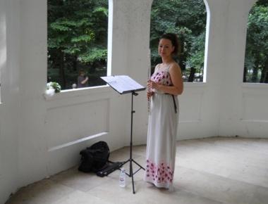 Katarina Horvat, flauta, 29. lipnja 2014. godine